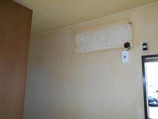 アパート室内塗装の施工前