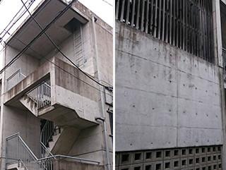 外壁塗装工事の施工前