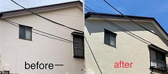 外壁・屋根・塗装工事の施工前