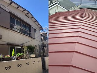 屋根・外壁塗装工事の施工後