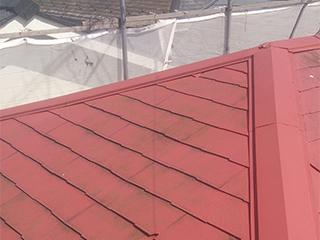 屋根塗装工事の施工前