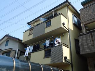 一戸建て 外壁塗装工事の施工前