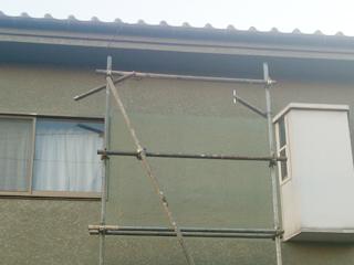 一戸建て 補修吹き付け塗装の施工後