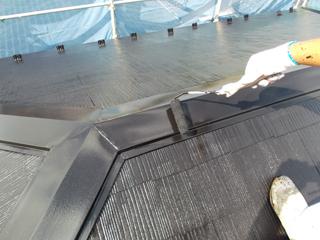 屋根塗装工事の施工後