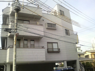 マンション 外壁塗装工事の施工後