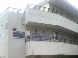 マンション 外壁塗装工事の施工前